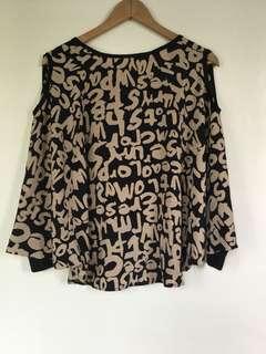 Loose blouse preloved