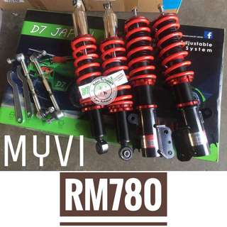 Adjustable Myvi