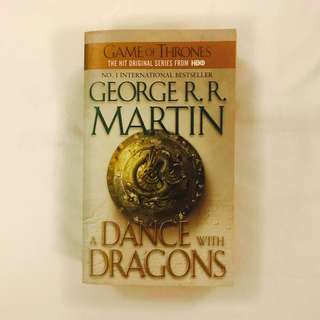 Game of Thrones: A Dance with Dragons, George R.R. Martin