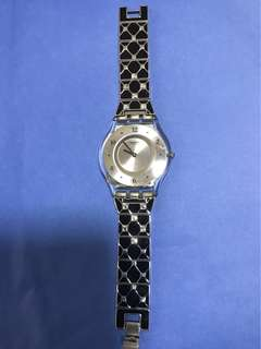 Swatch Women's watch (with 12 crystals)