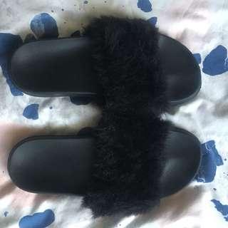 Fluffy slide