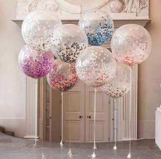 "36"" confetti balloon"