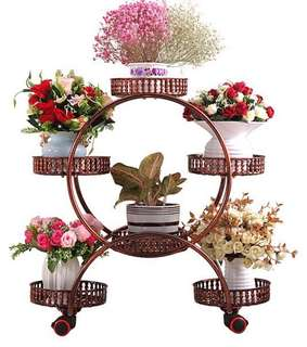 Brand New 6 Tier Versatile Plant Stand WITH WHEELS