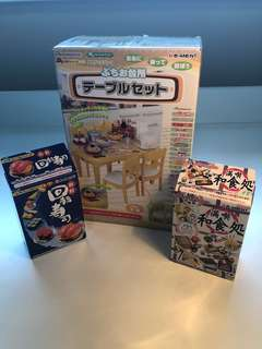 Rare Re-Ment Japanese Kitchen Miniature (Collectible)