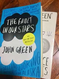BUY 2 JOHN GREEN BOOKS