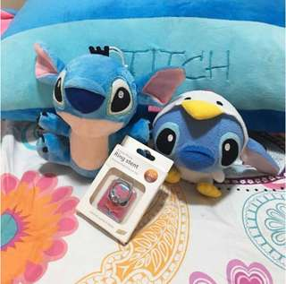 Bundle!!! Lilo and Stitch Plush Toys and Ring Stent