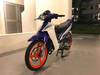 X1R/125Z Enkei Rim