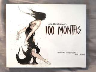 John Hicklenton 100 months comic