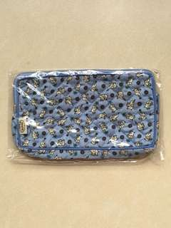 NaRaYa Cosmetics Pouch with top zipper [Brand New]