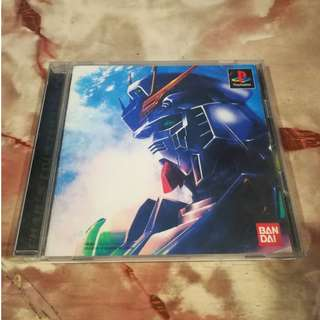 Gundam Mobile Suit PS1 Playstation