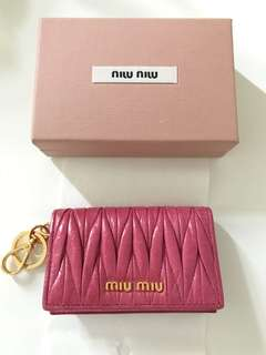 Miu Miu 鎖匙包/ card holder