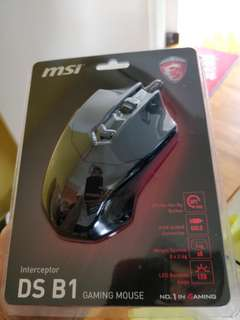 MSI DS B1 Gaming Mouse (BNIB)
