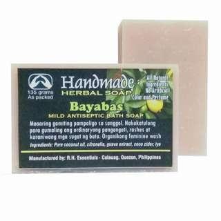 HANDMADE BAYABAS HERBAL SOAP