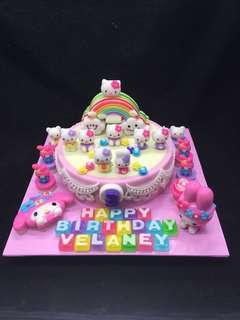Hello Kitty Jelly cake design