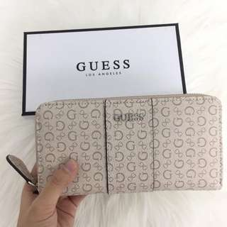 AUTHENTIC GUESS wallet ware Zip Around
