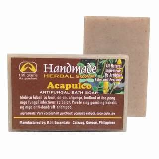 HANDMADE ACAPULCO ANTI-FUNGAL HERBAL SOAP