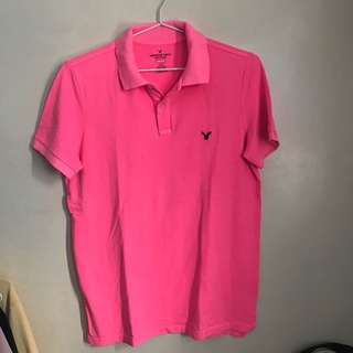 American Eagle Core Flex Polo Shirt