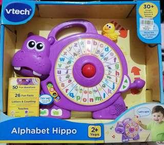 Alphabet hippo