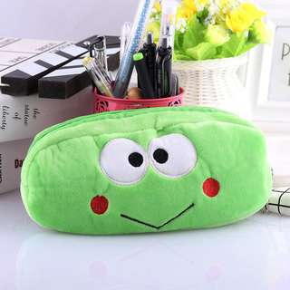 🐸BN INSTOCK Adorable Frog Pencil Bag Case