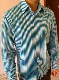 MARCS checkered shirt size M