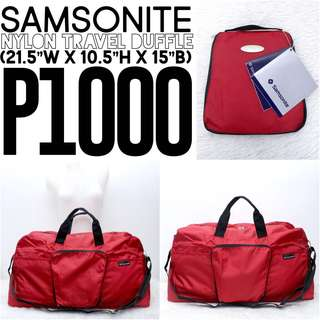 AUTHENTIC SAMSONITE BAG🎒