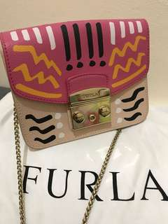 Furla Printed Crossbody Authentic