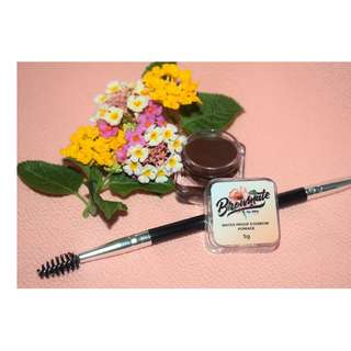 BROWMATE by Arie eyebrow pomade with angled brush