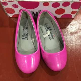 Minnie mouse doll shoes