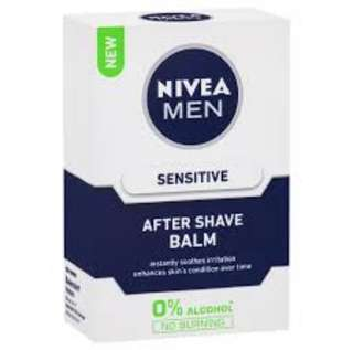 🚚 Nivea men sensitive after shave balm