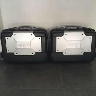 Kgr33 side boxes kappa 33L 33 litres panniers
