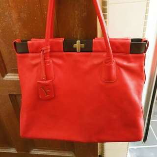 OPEN SWAP! AUTHENTIC FURLA LEATHER BAG