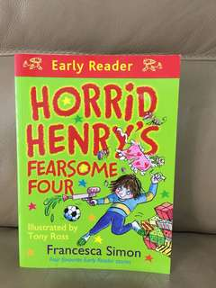 Horrid Henry book