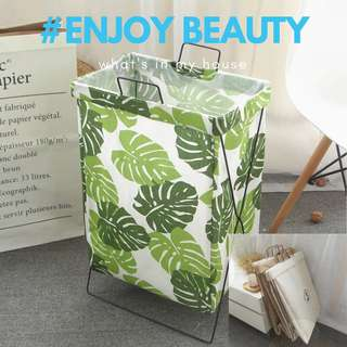 🚚 🌻Enjoy Beauty  🌻北歐風折疊式洗衣藍置物袋