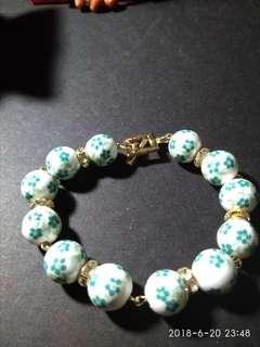 China ceramic beads bracelet