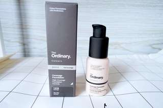 The Ordinary Coverage Foundation (Brand New! 6 shades available)