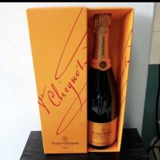 Champagne Veuve Clicquot Yellow Label Brute