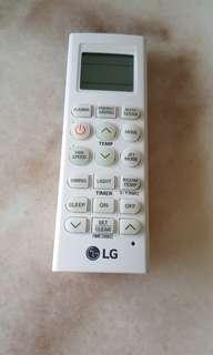 LG Aircon remote control