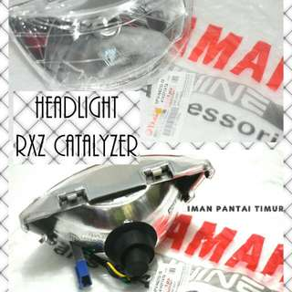 HEADLIGHT RXZ CATALYZER MADE IN TAIWAN RM65