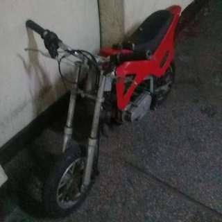 50cc pocket bike 2T engine