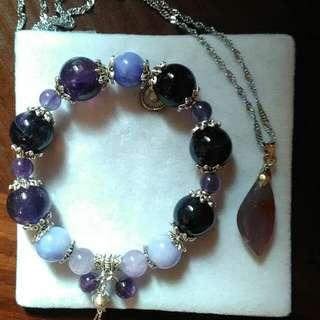 🚚 烏拉圭紫水晶套組