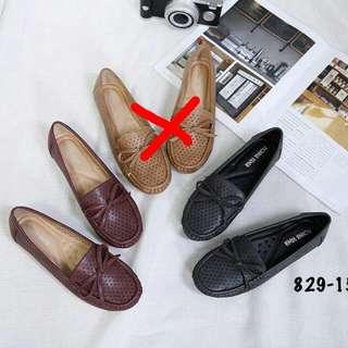 [MONA VANIA ORLANDO FLATS 829-15] Sepatu Fashion Wanita Impor Murah