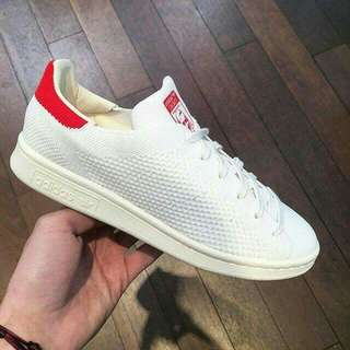 ADIDAS STAN SMITH PRIMEKNIT OG [100% AUTHENTIC] Red