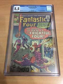 Fantastic Four 36 (1st medusa and frightful four)