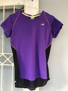 New Balance Purple Sport Tee