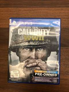 PS4 Game - Call of Duty WWII