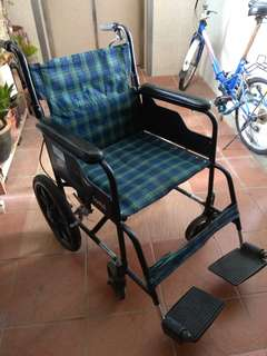 "Wheelchair ""can neg"""
