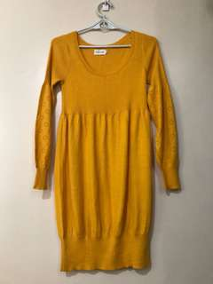 REPRICED!!!bread n butter dress,fits to small,medium large