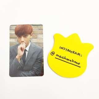 EXO Growl Official Album Photocard (Member: Tao)