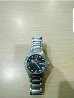 Jam Lawas Swiss Army Original