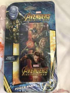 🚚 Avengers powerbank, charging cable and more!!